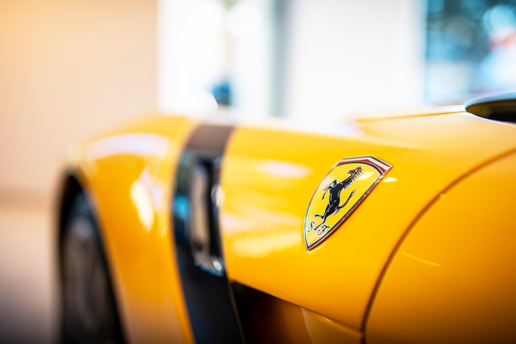 Ferrari F12 TDF automotive photography for Ferrari Brooklands Leeds
