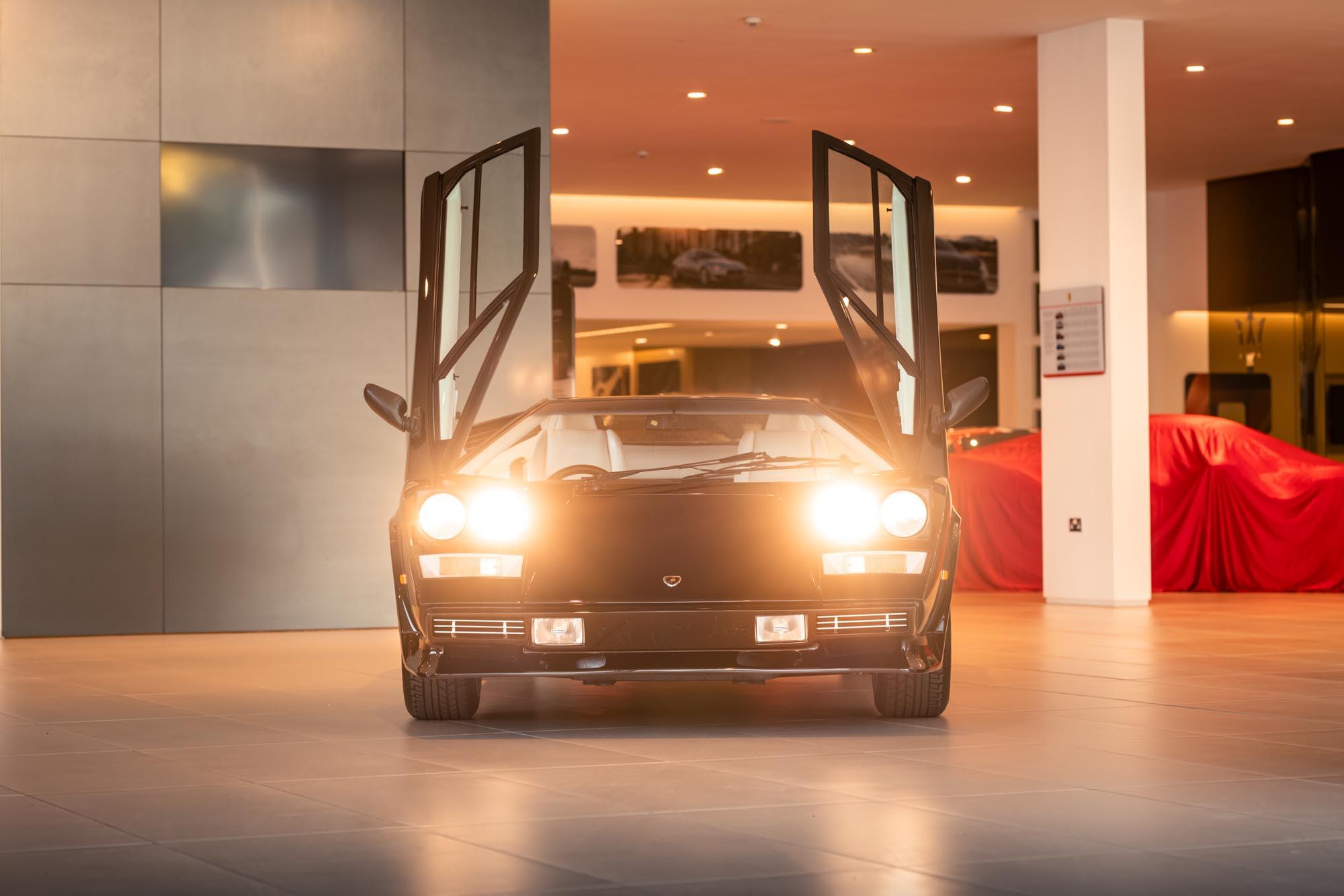 Rare Lamborghini Countach Restoration Photographed for JCT600