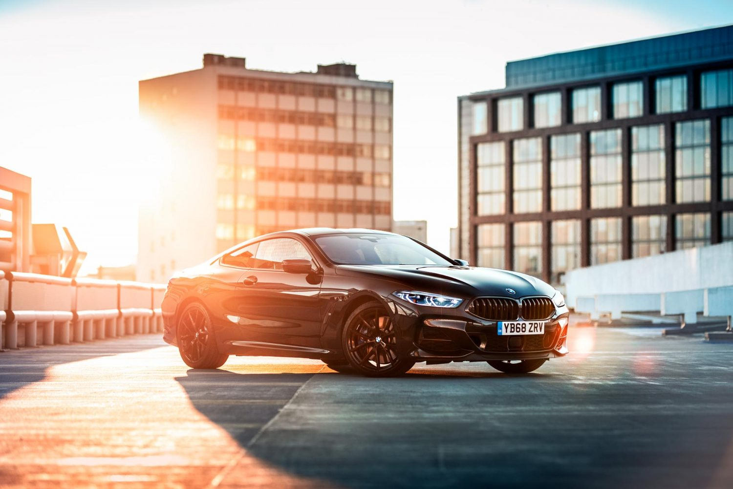 BMW M850i release photography