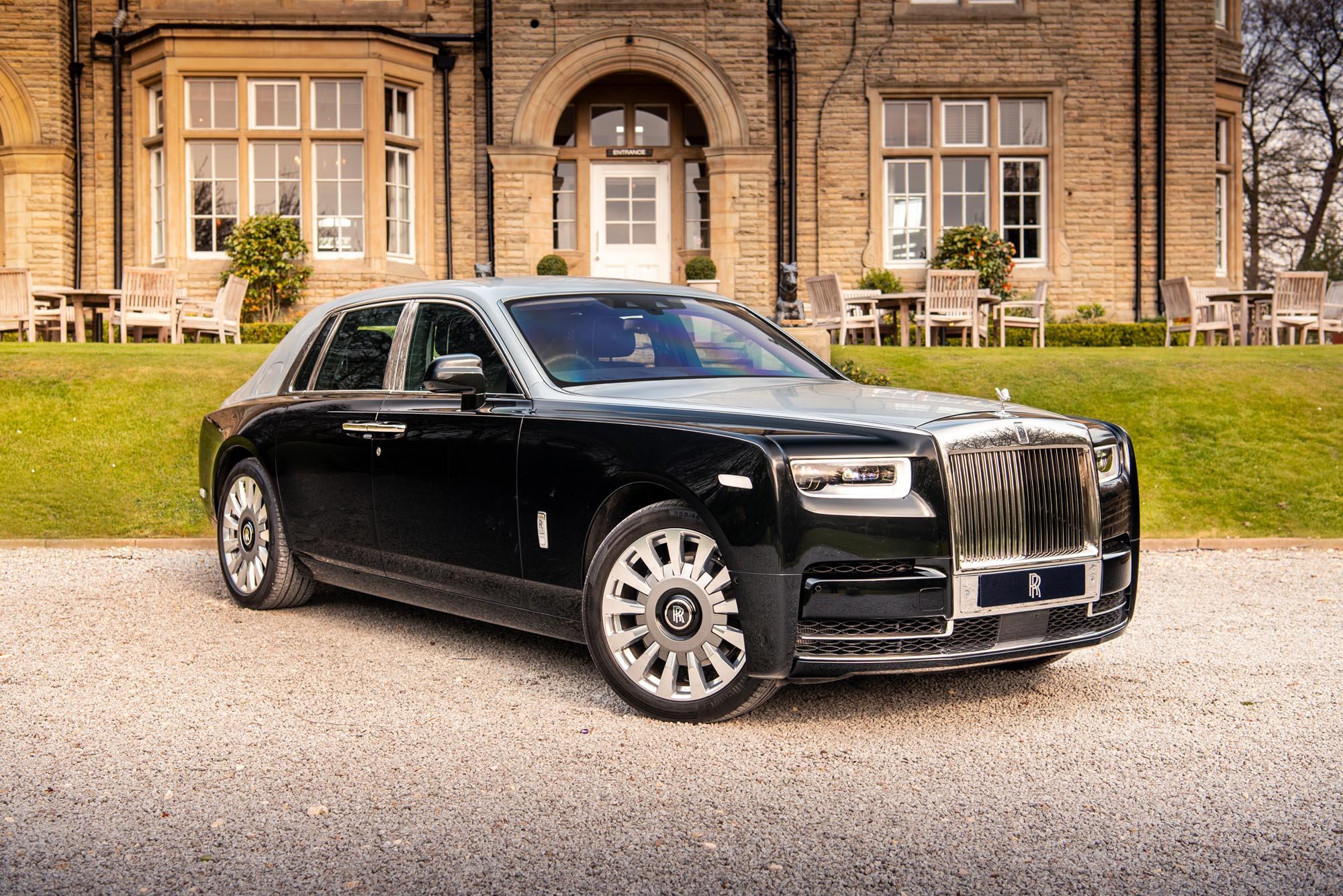 Rolls-Royce Phantom Automotive Photography for JCT600 Leeds