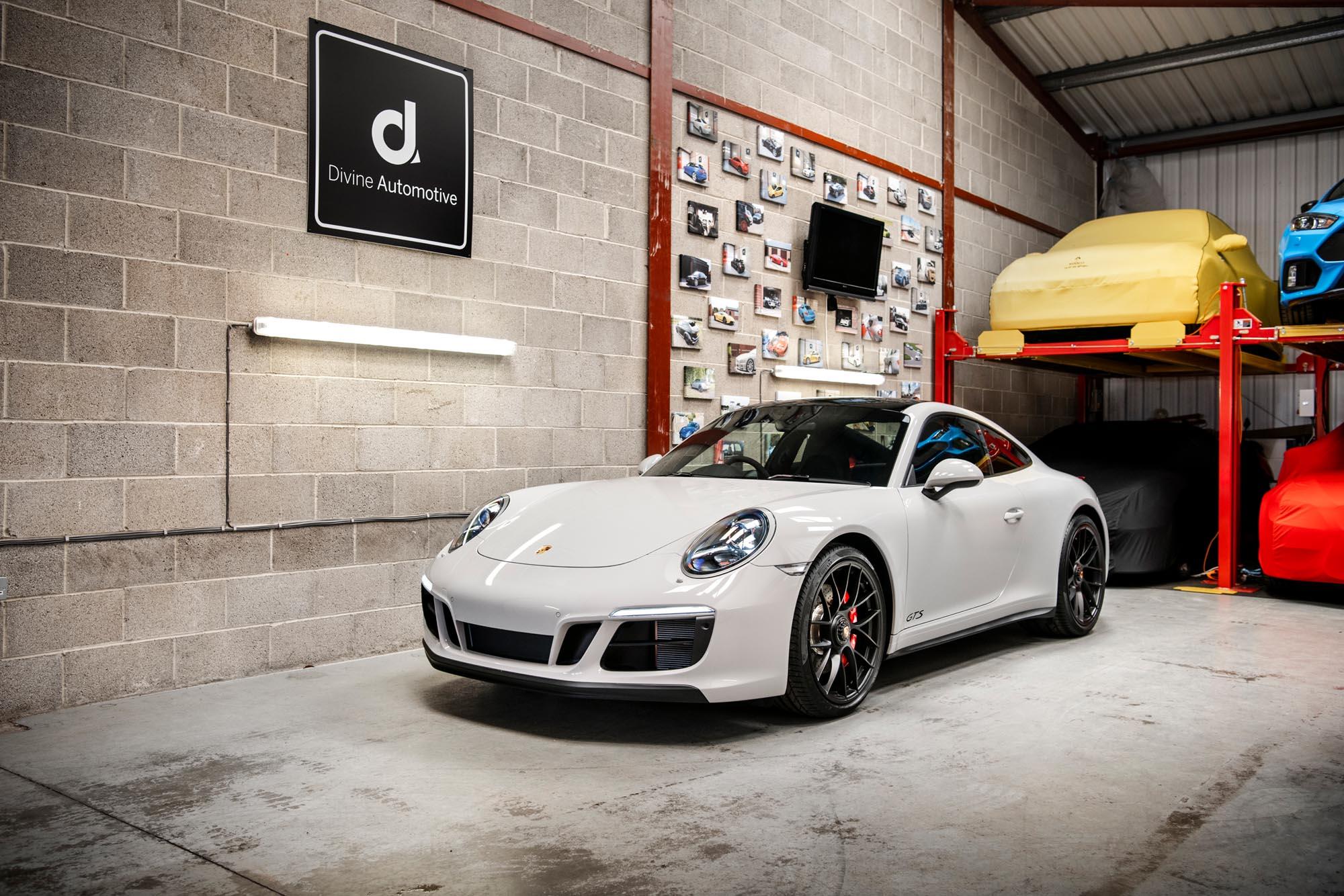 Porsche 911 GTS Photographed for Divine Automotive Starbeck