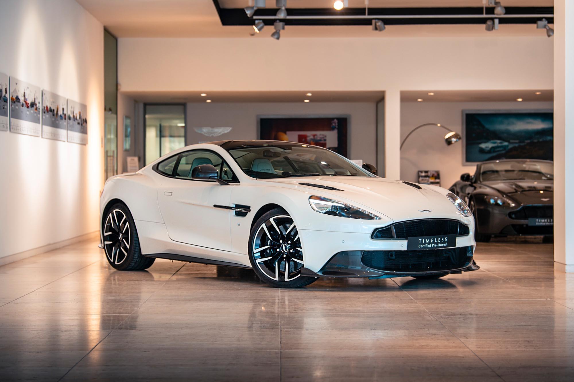 Aston Martin Vanquish S Car Photography
