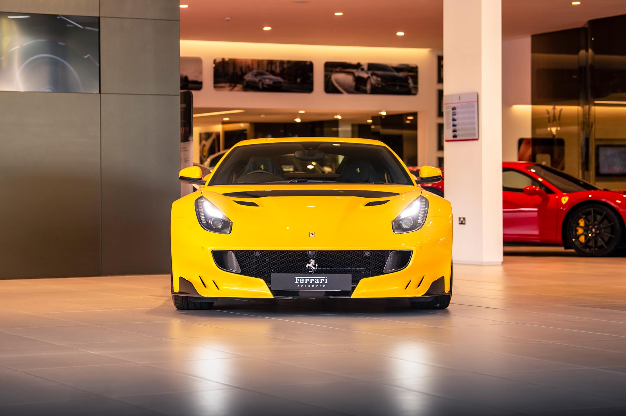 Ferrari F12 TDF automotive photography for Ferrari Brooklands Leeds